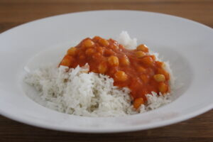 Indisches Kichererbsen-Curry (Chana Masala)