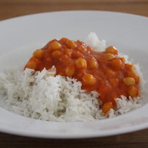 Indisches Kichererbsen-Curry (Chana Masala)